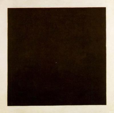 Schwarzes Quadrat