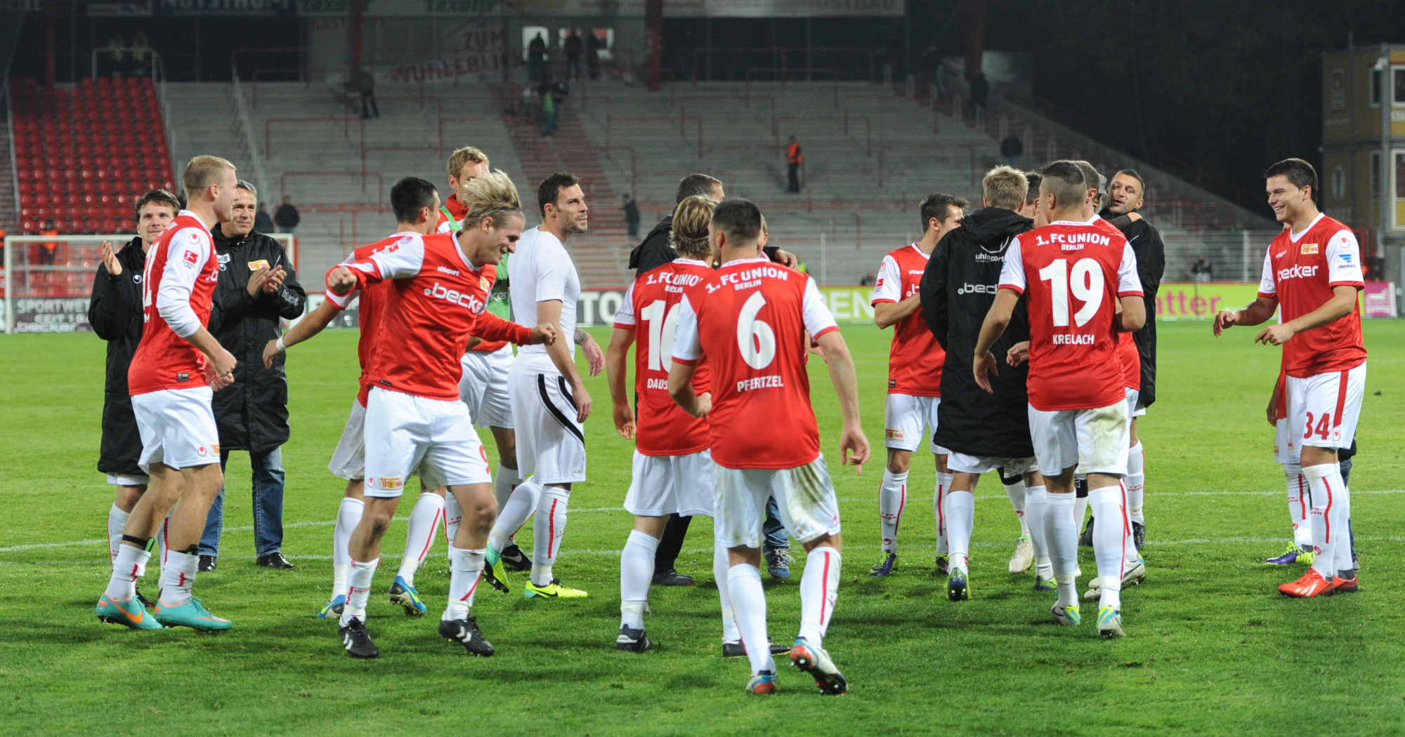 1. FC Union - Sandhausen 2013/14