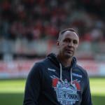 Trainer Norbert Düwel nach Abpfiff.