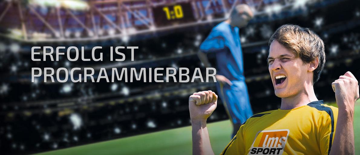Screenshot Homepage LMS Sport GmbH