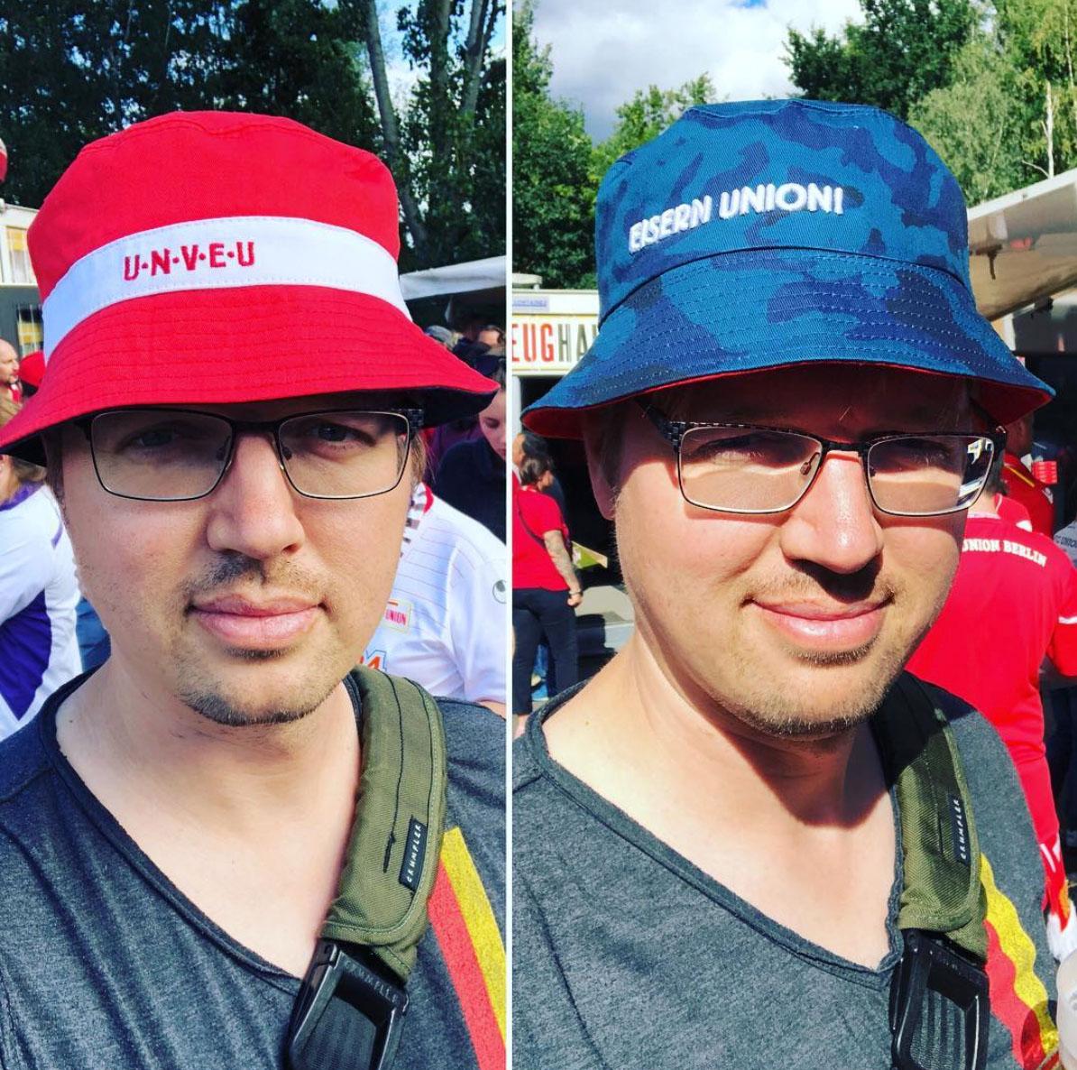 Debatte um Fanwachstum bei 11Freunde und die Frage, ob ich den Union-Anglerhut jetzt nur noch ironisch tragen darf?, Foto: Sebastian Fiebrig