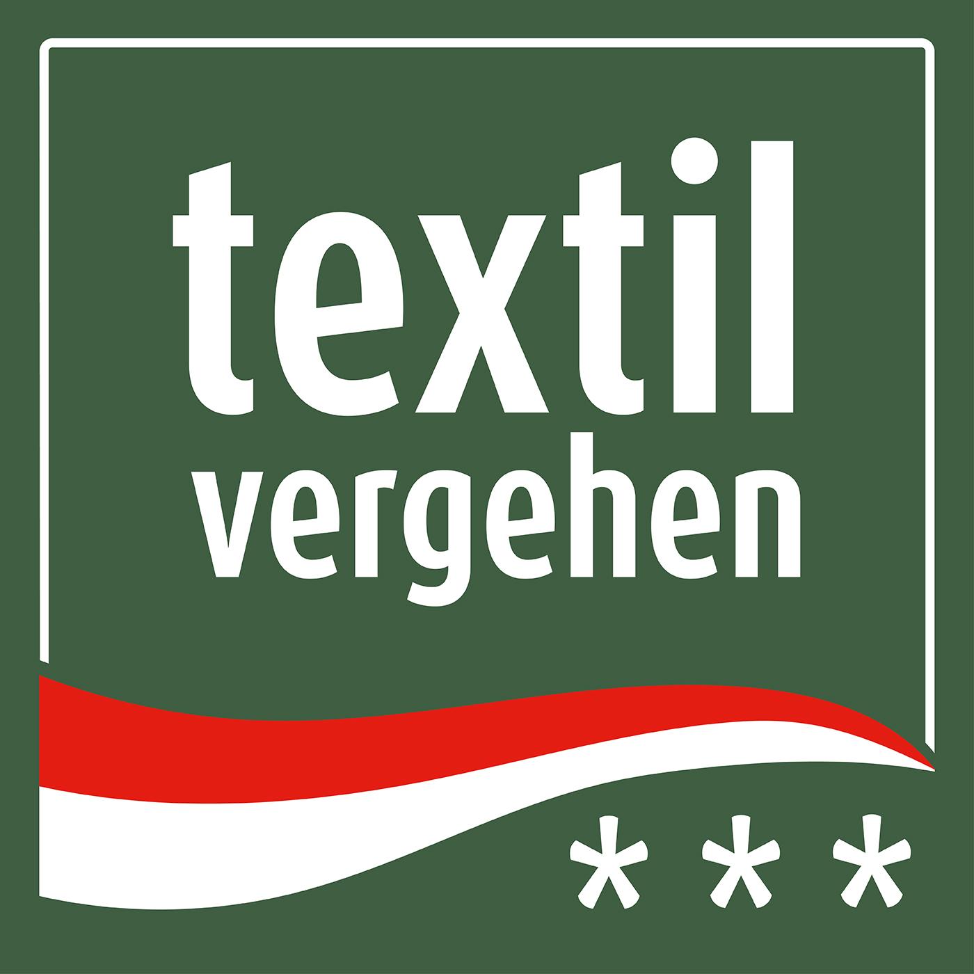 Das neue Textilvergehen-Logo, Design von Steffi Fiebrig