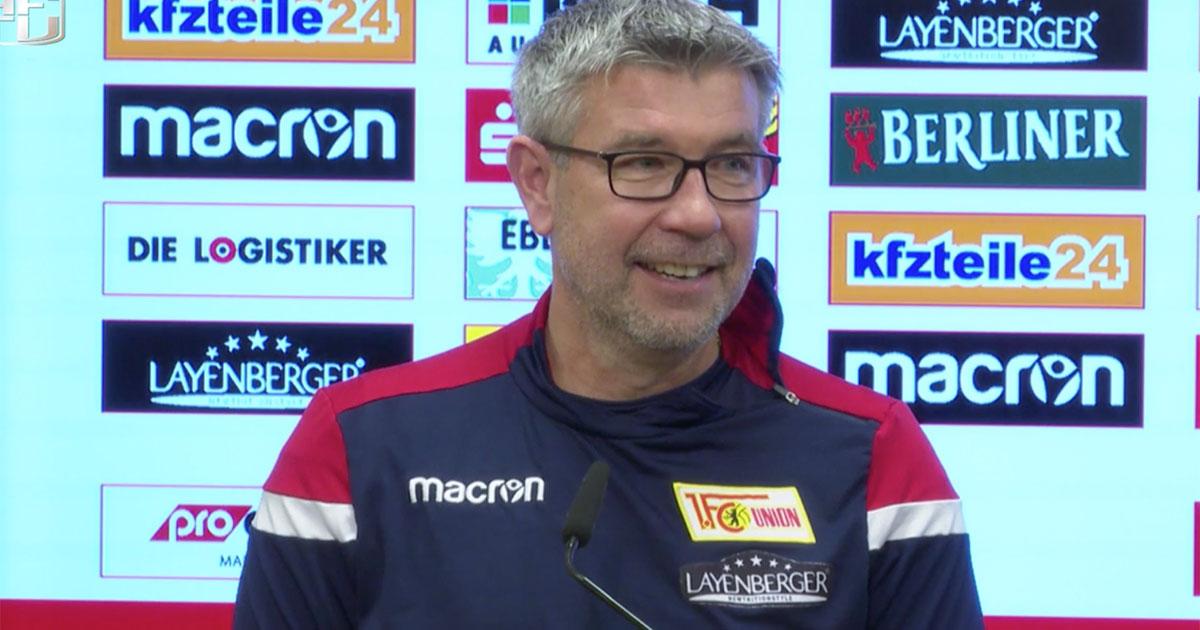 Urs Fischer auf der Pressekonferenz vor der Partie gegen den FC St. Pauli, Screenshot: AFTV
