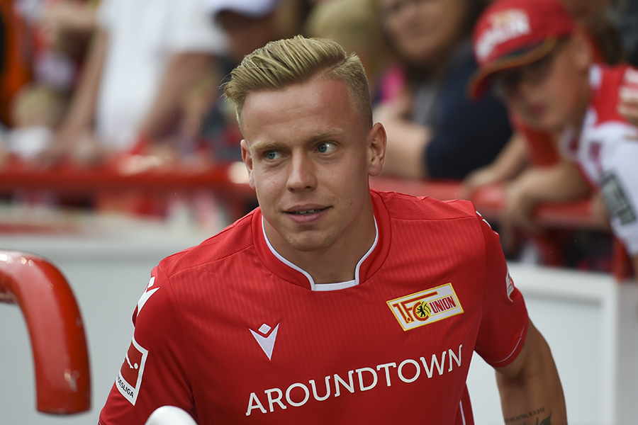 Lennard Maloney vom 1. FC Union Berlin