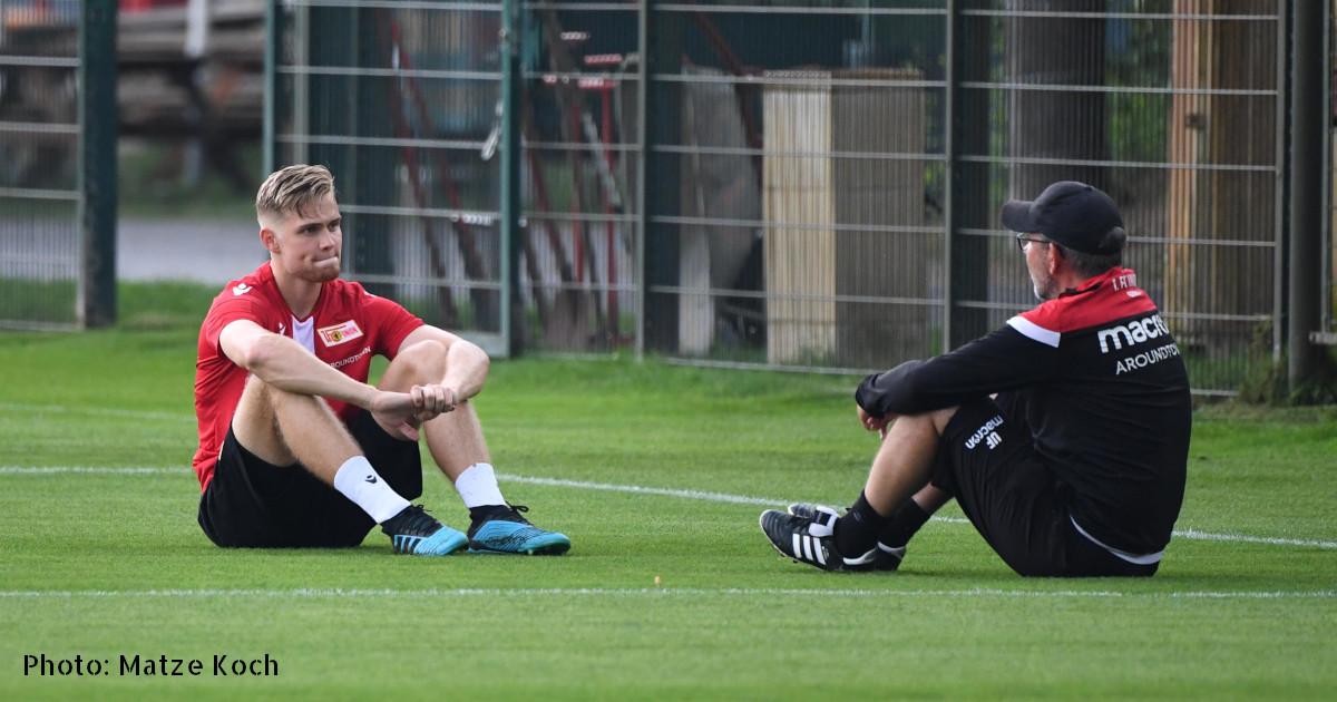 Lars Dietz unf Urs Fischer beim 1. FC Uninon