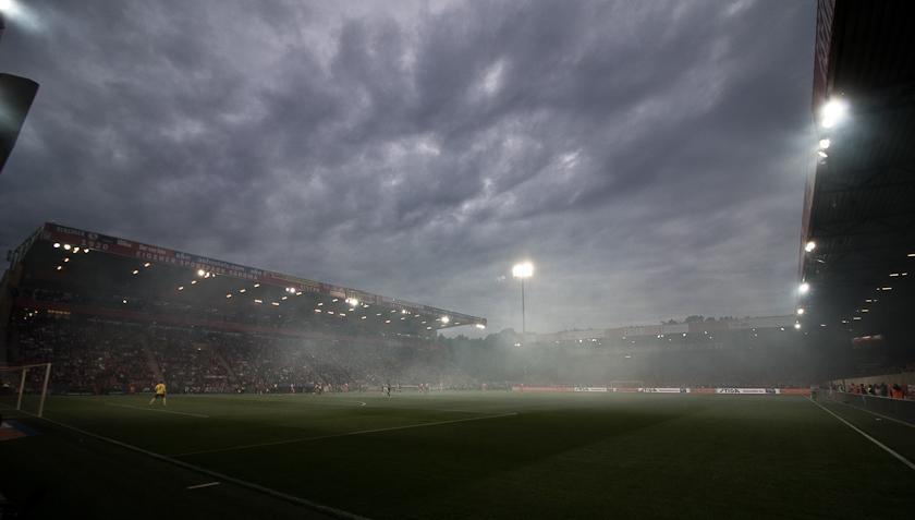 Stadion an der Alten Försterei Flutlicht