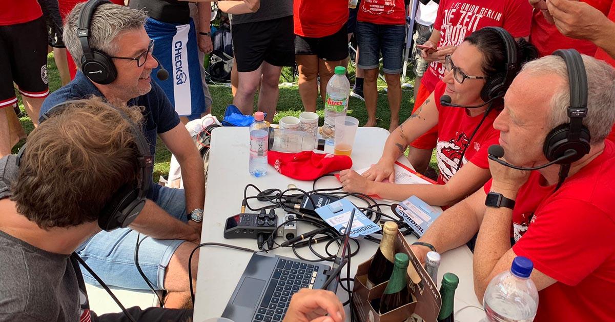 Urs Fischer (Trainer des 1. FC Union Berlin) zu Gast bei uns im Textilvergehen-Podcast