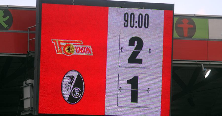1. FC Union vs SC Freiburg