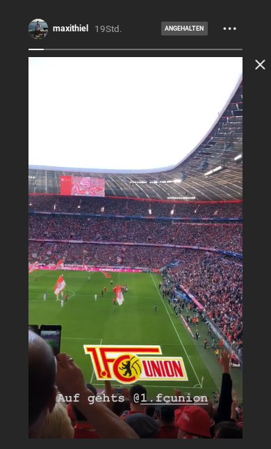 Instagram Maxi Thiel