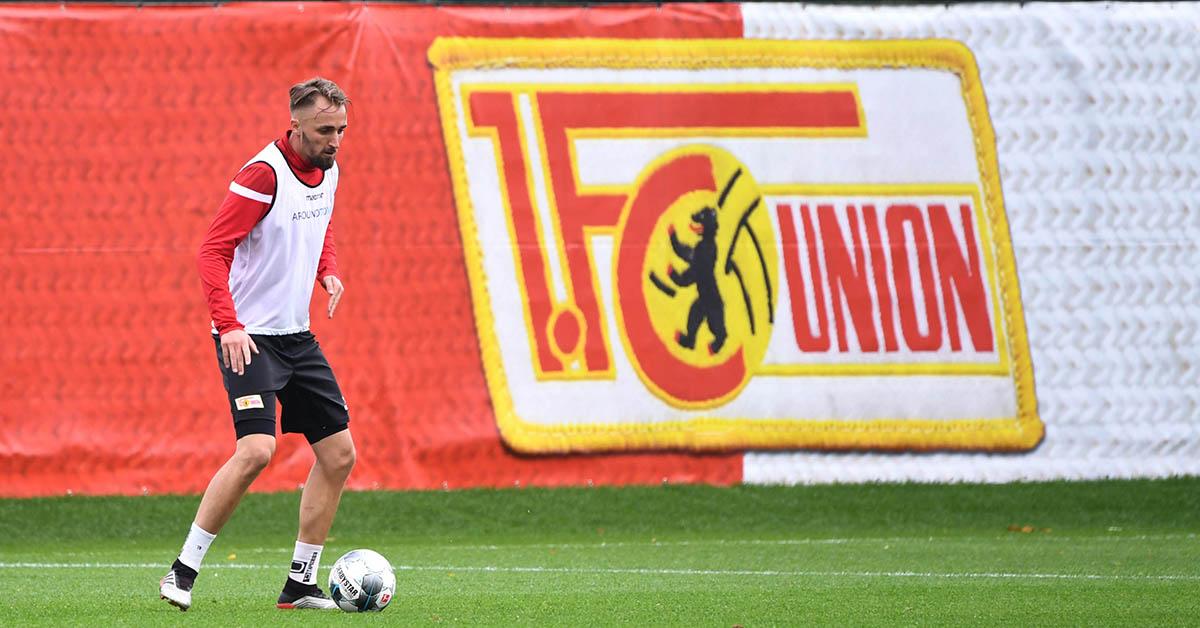 Florian Hübner (1. FC Union Berlin) beim Training am 01.10. 2019, Foto: Matze Koch