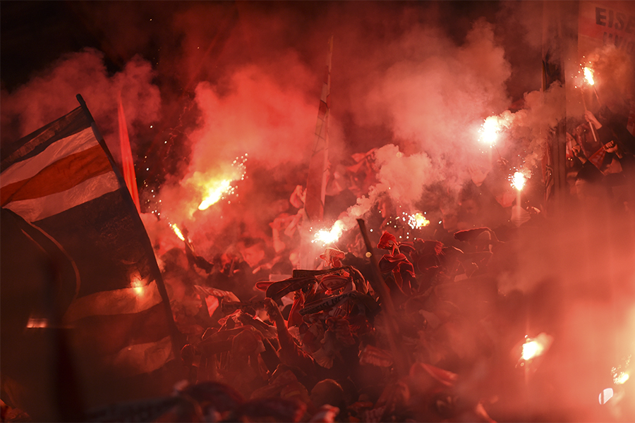 Pyro Derby Union Hertha