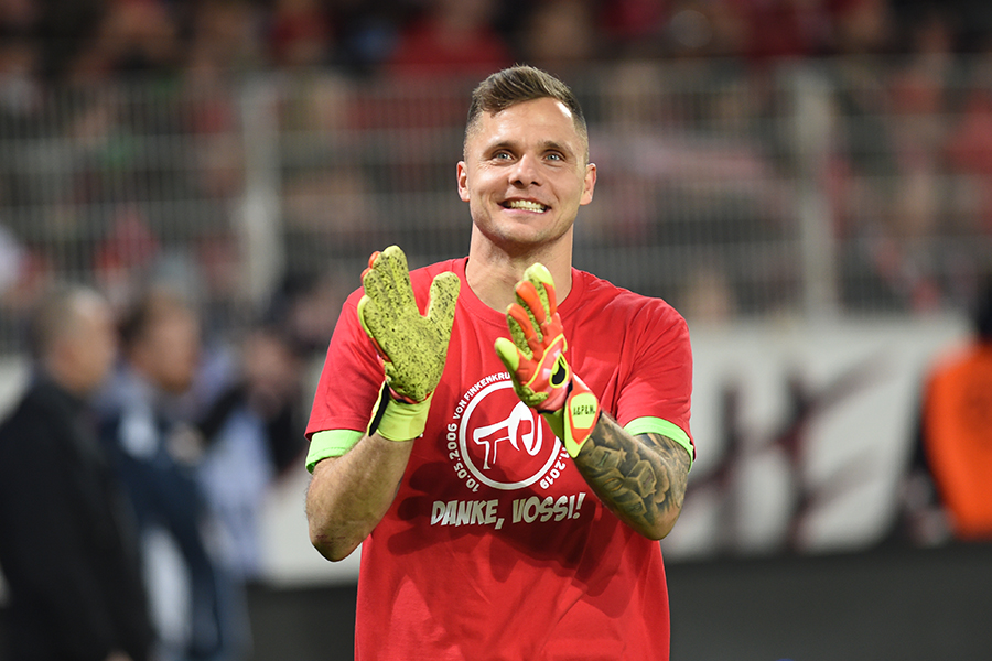 Rafal Gikiewicz nach dem Spiel