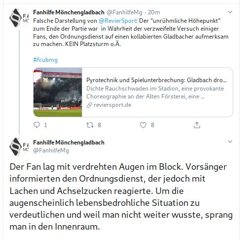 Gladbach Fans Notfall Union