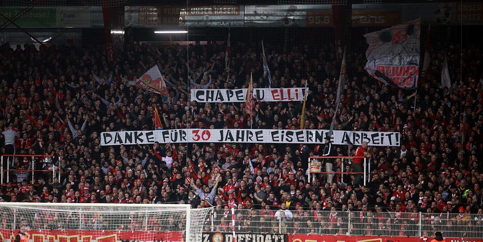Banner zum Abschied von Elli, Foto: Tobi/unveu.de