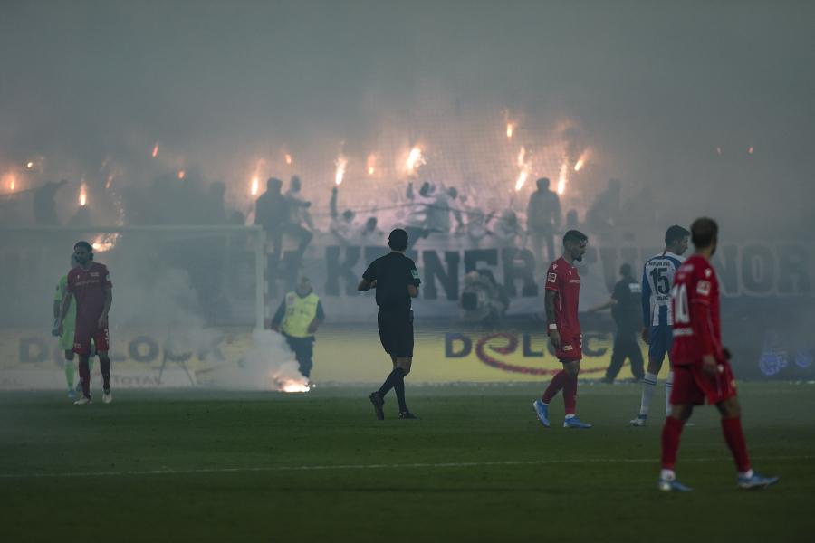 Derby Ausschreitungen Hertha BSC