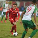 Marcus Ingvartsen am Ball