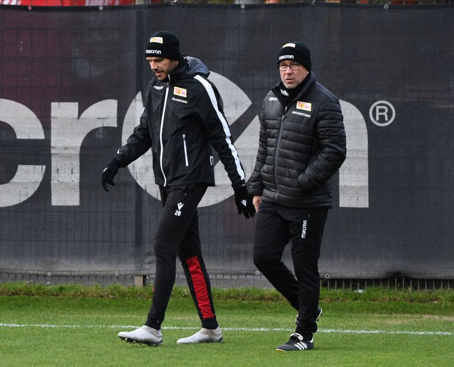 Christopher Trimmel und URs fischer 1. FC Union