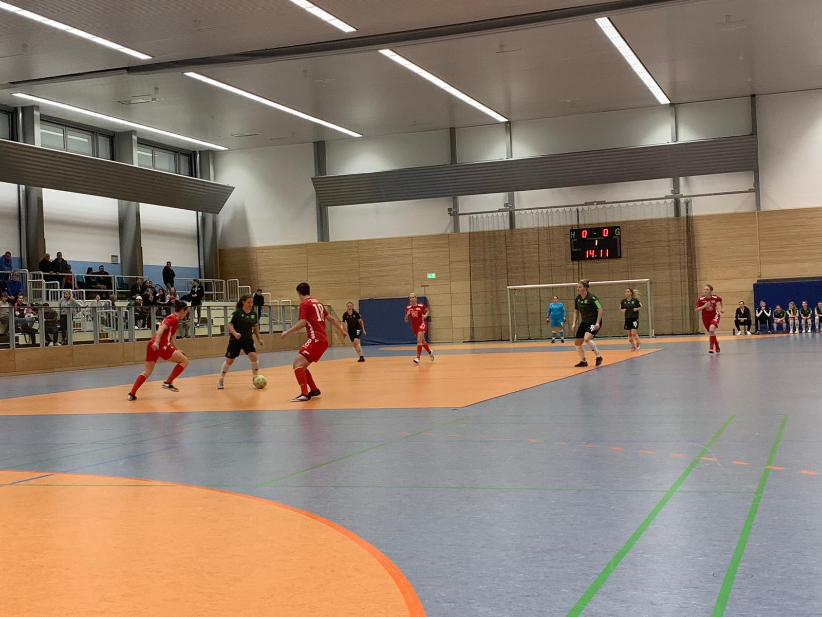 Unions Frauen belegten in Lichtenberg beim Hallenturnier Platz 2, Foto: 1. FC Union Frauen/Facebook