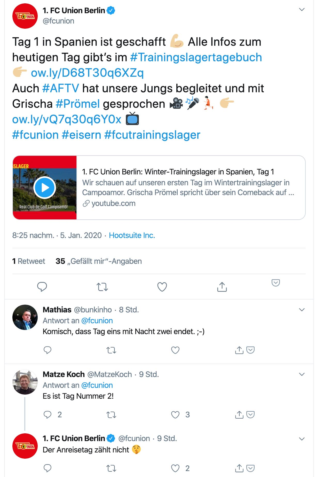 Screenshot: Twitter @fcunion