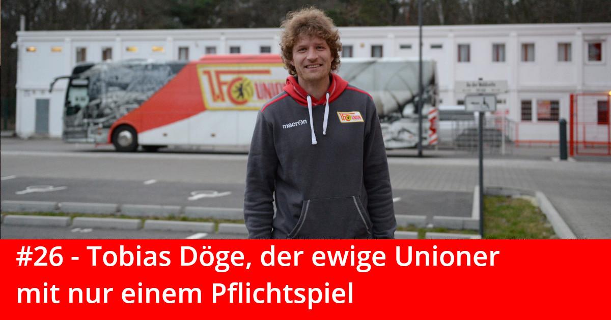 """Tobias Döge ist der Hauptakteur der aktuellen Episode von """"Und niemals vergessen"""", Foto: Matze Koch"""