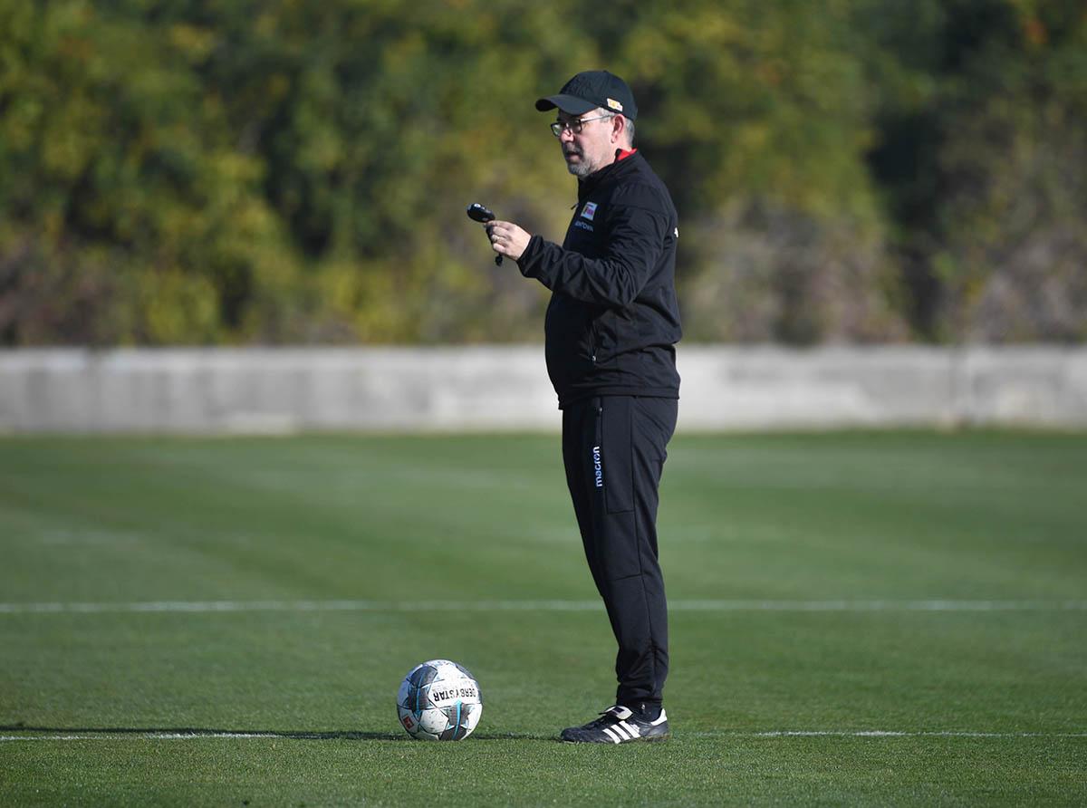 Urs Fischer (1. FC Union Berlin) im Trainingslager, Foto: Matze Koch
