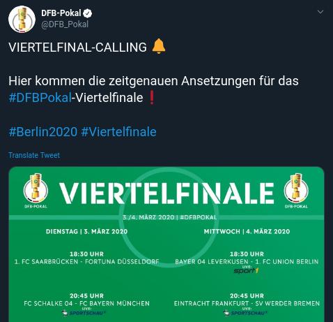 DFB Pokal Sport1