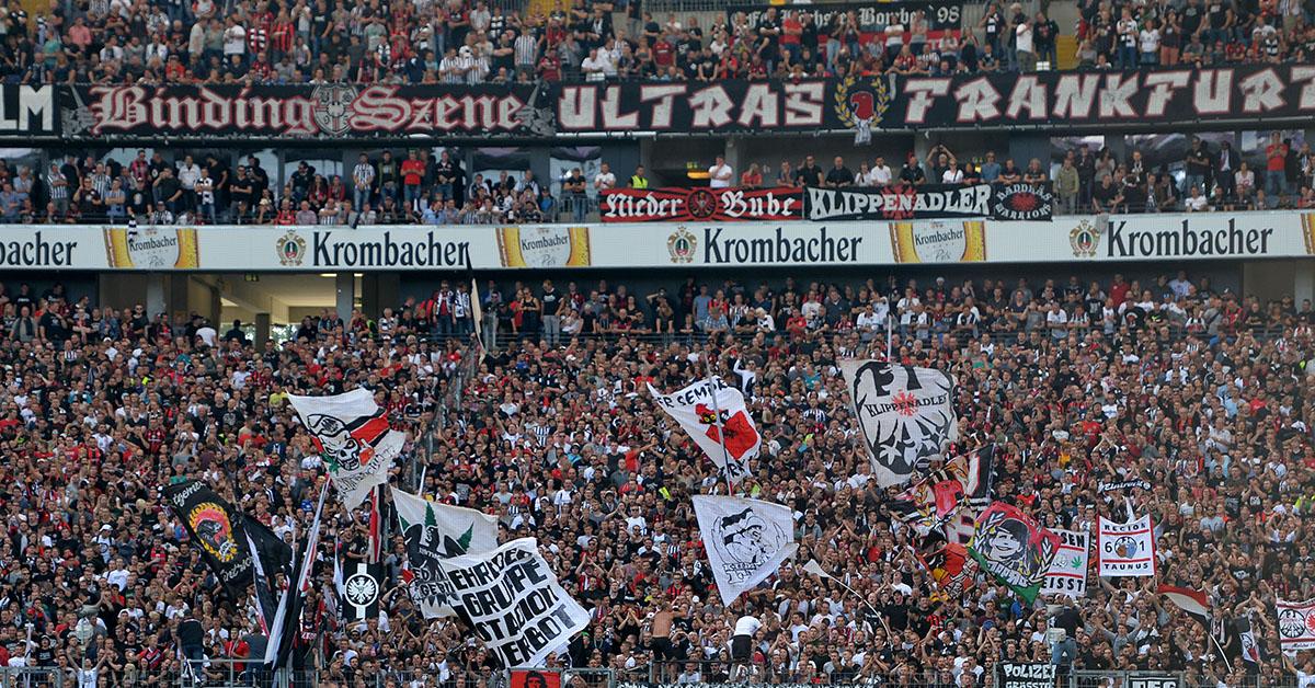 Fankurve von Eintracht Frankfurt, Foto: Matze Koch