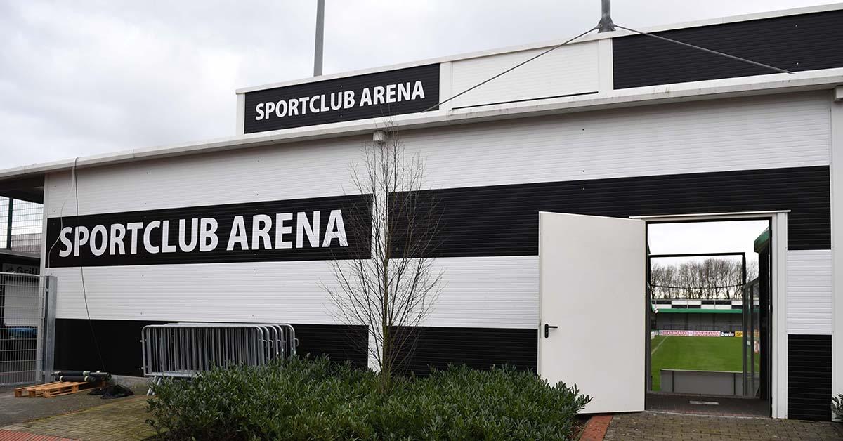 Die Sportclub Arena einen Tag vor dem Spiel gegen den 1. FC Union Berlin, Foto: Matze Koch