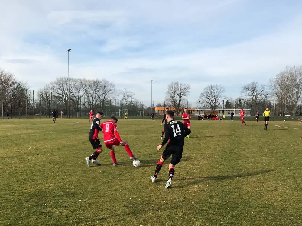 Die U17 des 1. FC Union Berlin spielt 3:3 bei Energie Cottbus, Foto: Daniel Roßbach