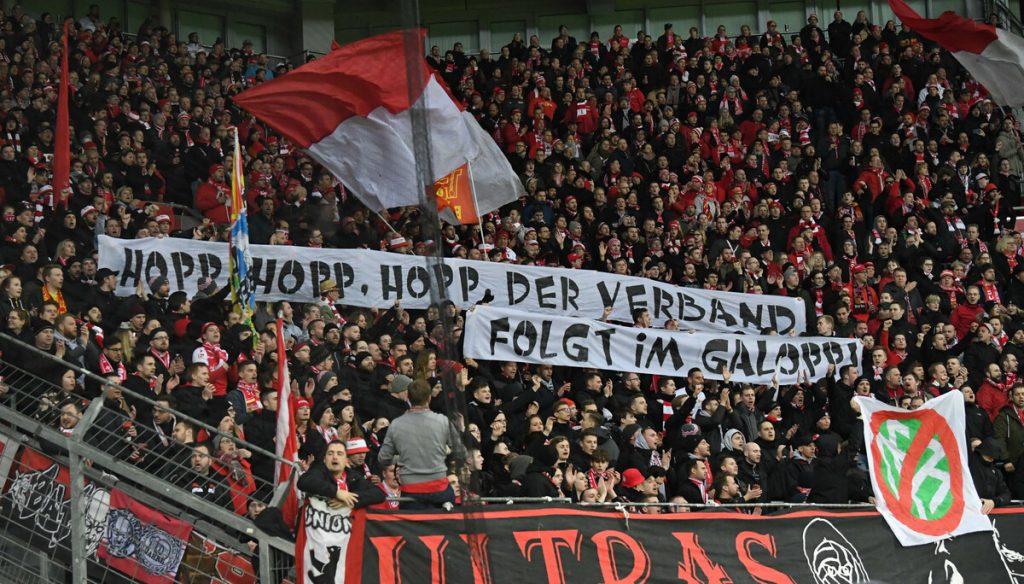 Banner Union Leverkusen DFB