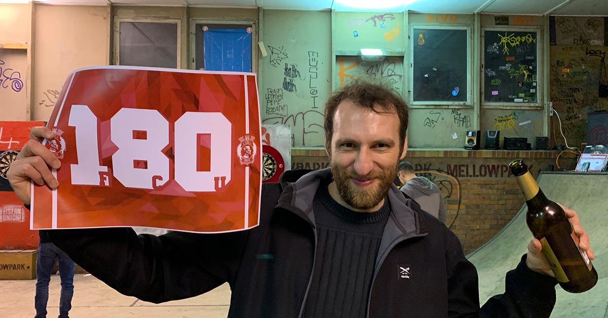 Daniel nach unserem Sechzehntelfinal-Aus, Foto: Sebastian Fiebrig