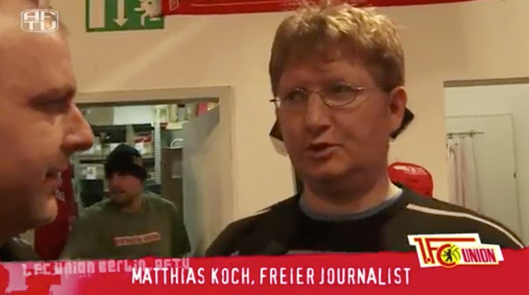 Matze Koch im Interview miT Coolhansen, Screenshot: AFTV