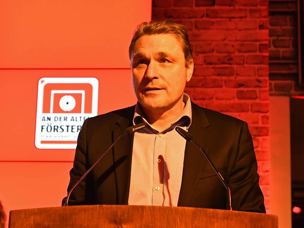 Oskar Kosche ist als Geschäftsführer Lizenzierung beim 1. FC Union für die Bundesliga-Lizenz zuständig, Foto: Matze Koch