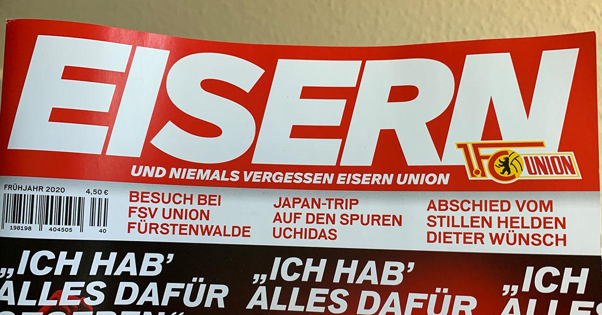 Das aktuelle Eisern-Magazin des Berliner Verlags