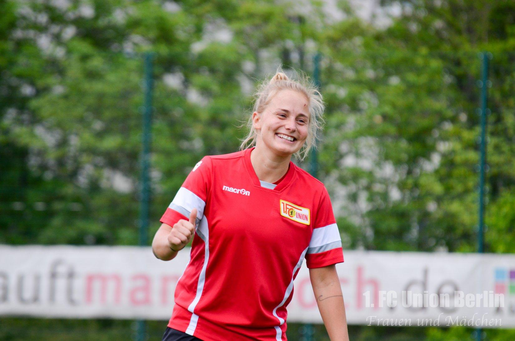 Bild vom ersten Training nach der langen Corona-Pause, Foto: 1. FC Union Berlin Frauen