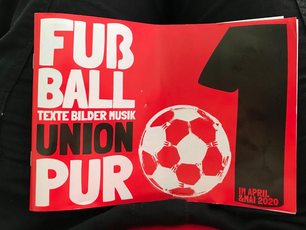 Fußball Pur Union Magazin
