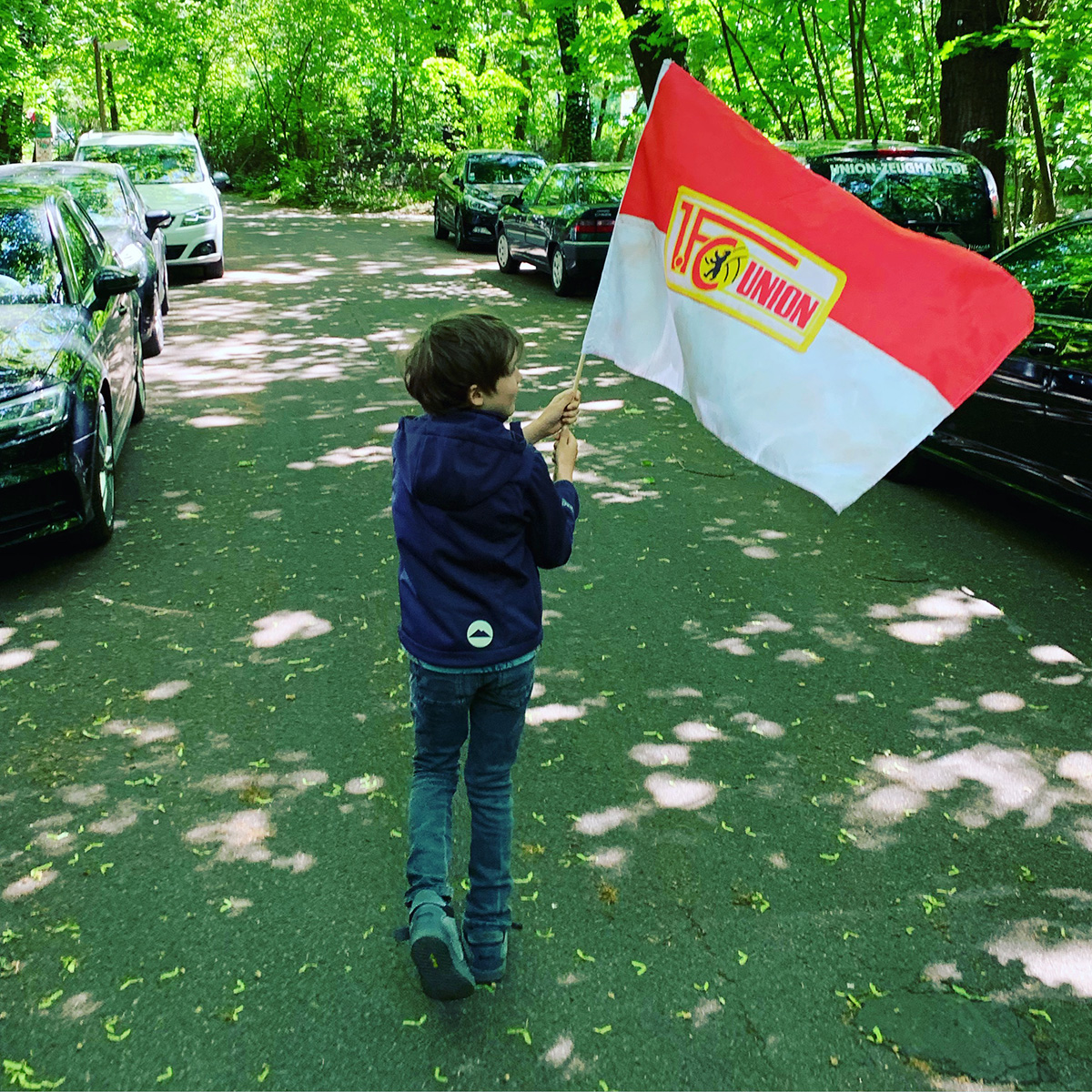 Flagge zeigen, Foto: Sebastian Fiebrig