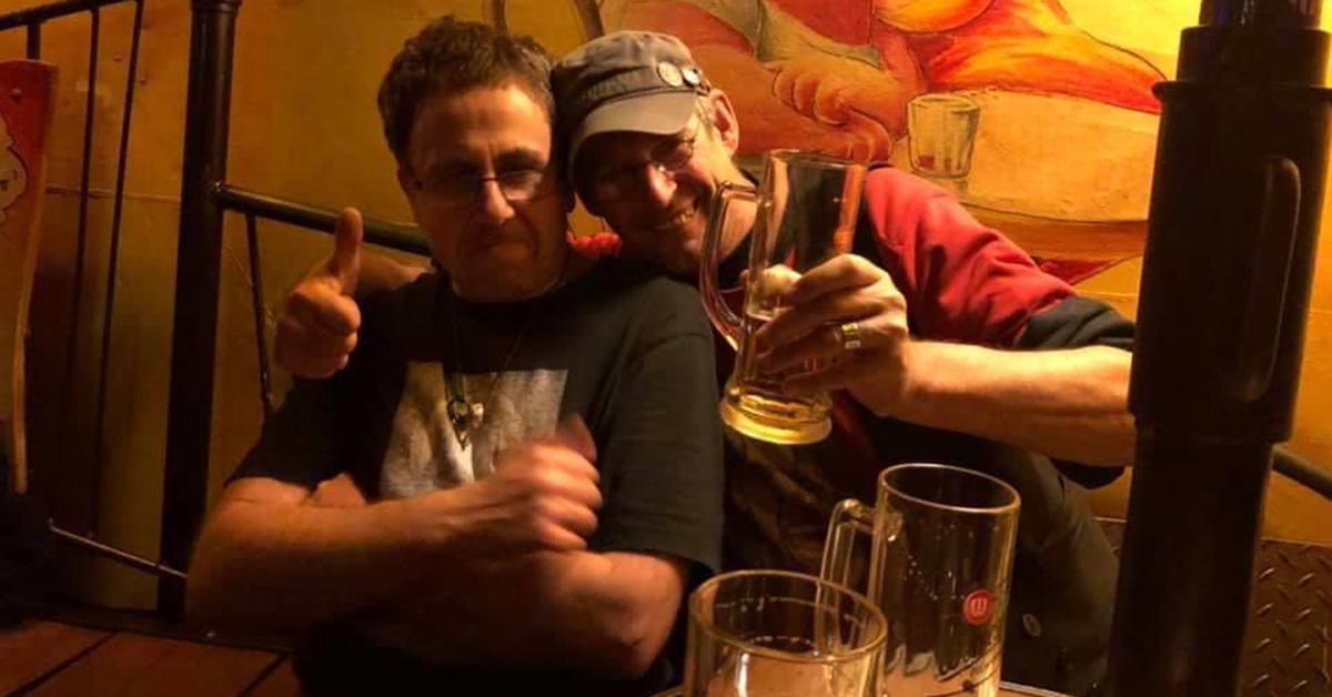 """Frank """"Nussi"""" Nussbücker und Sam Paff, Foto via Nussi"""