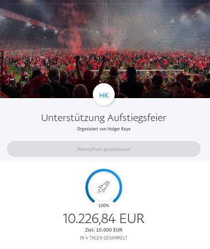 Spendenkampagne