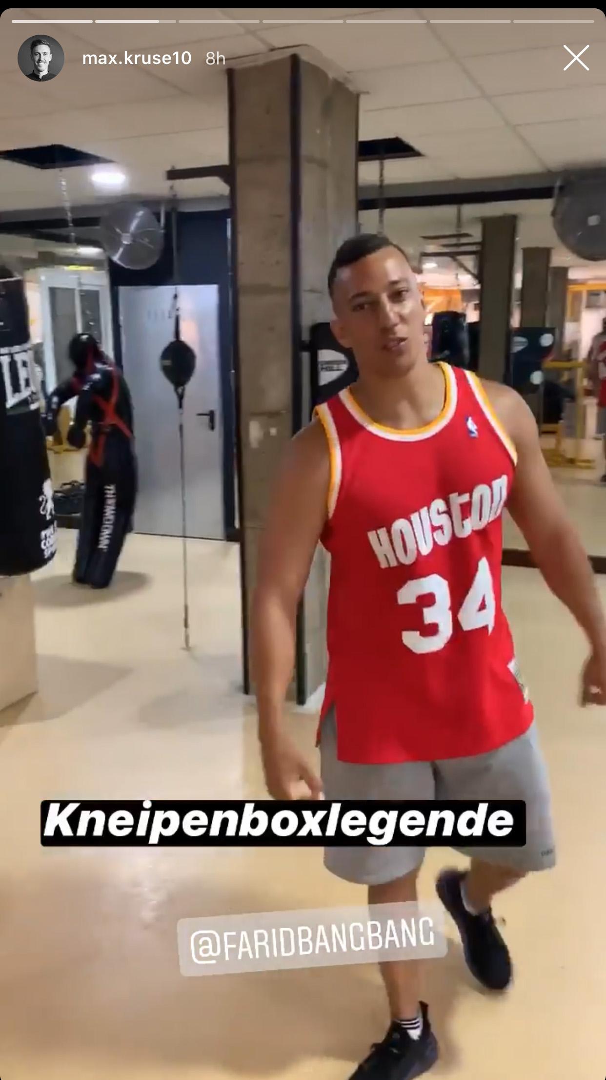 Max Kruse trifft Farid Bang