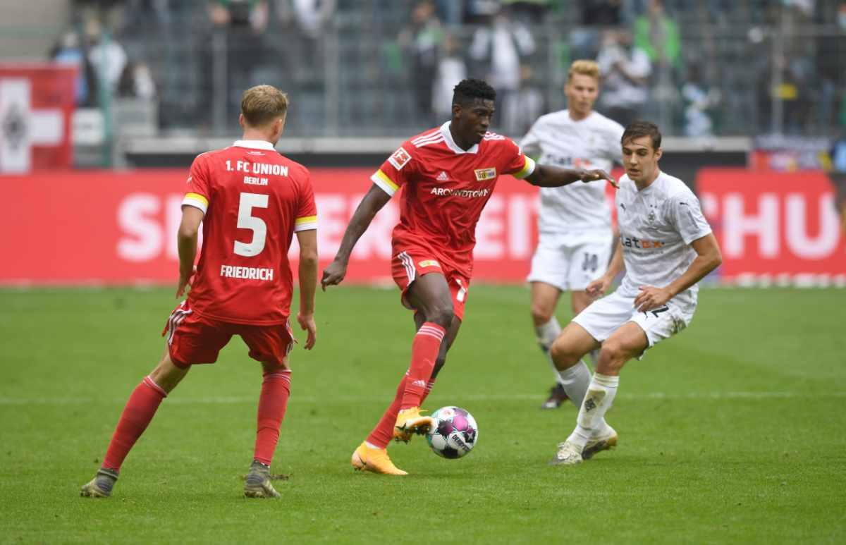 Taiwo Awoniyi im Einsatz gegen Borussia Mönchengladbach am 26.09. 2020, Foto: Matze Koch