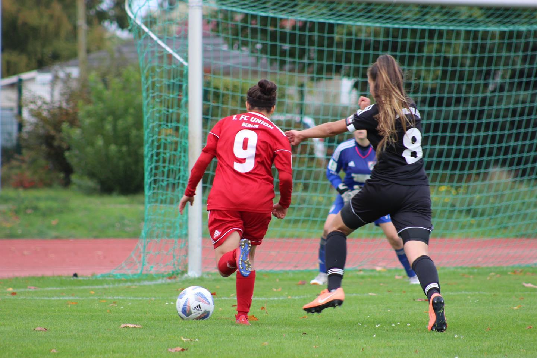 1:1 spielten die B-Juniorinnen in der Bundesliga, Foto: 1. FC Union Berlin Frauen - und Mädchenfußball