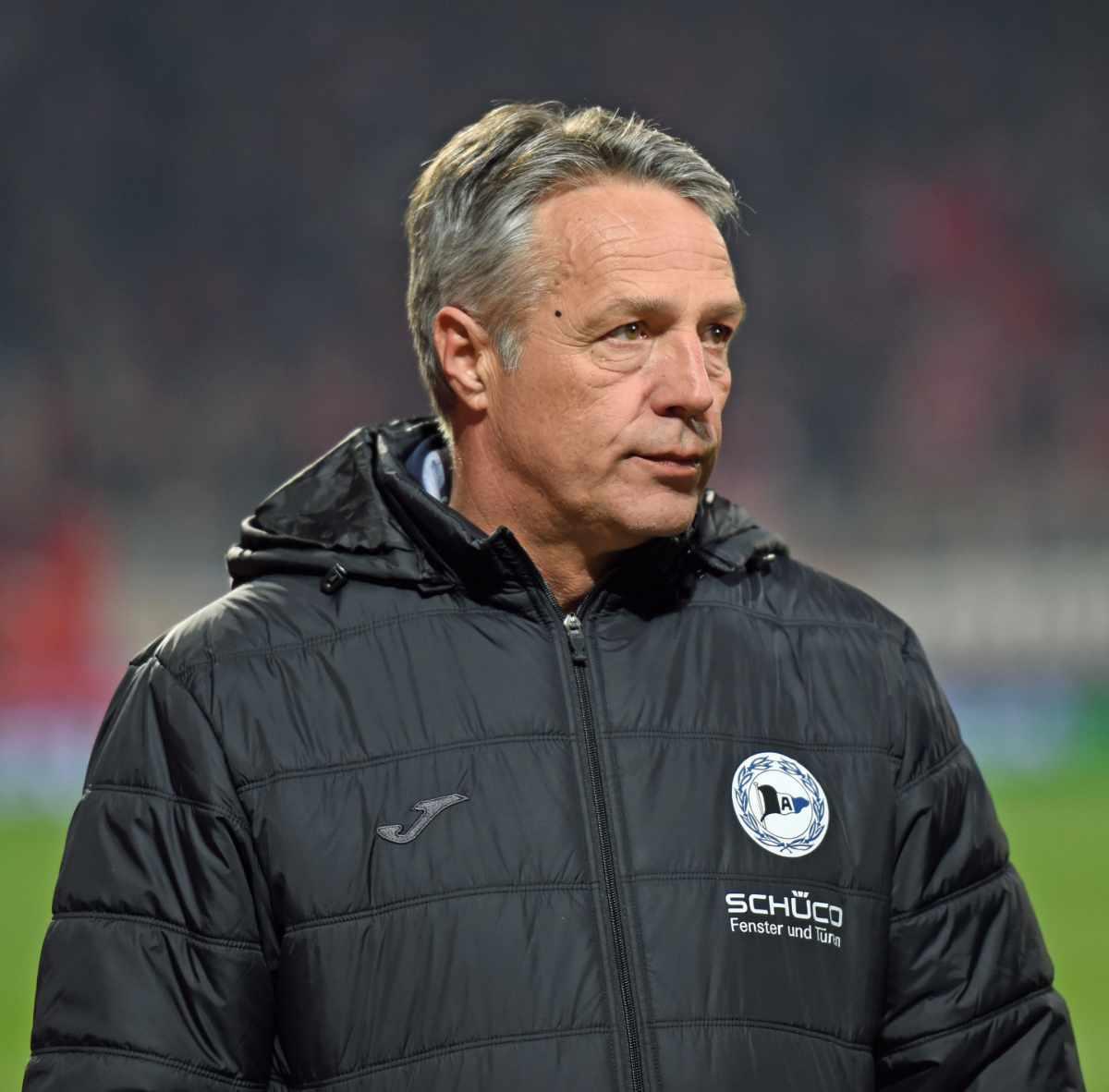 Uwe Neuhaus kommt als Trainer von ins Stadion an der Alten Försterei