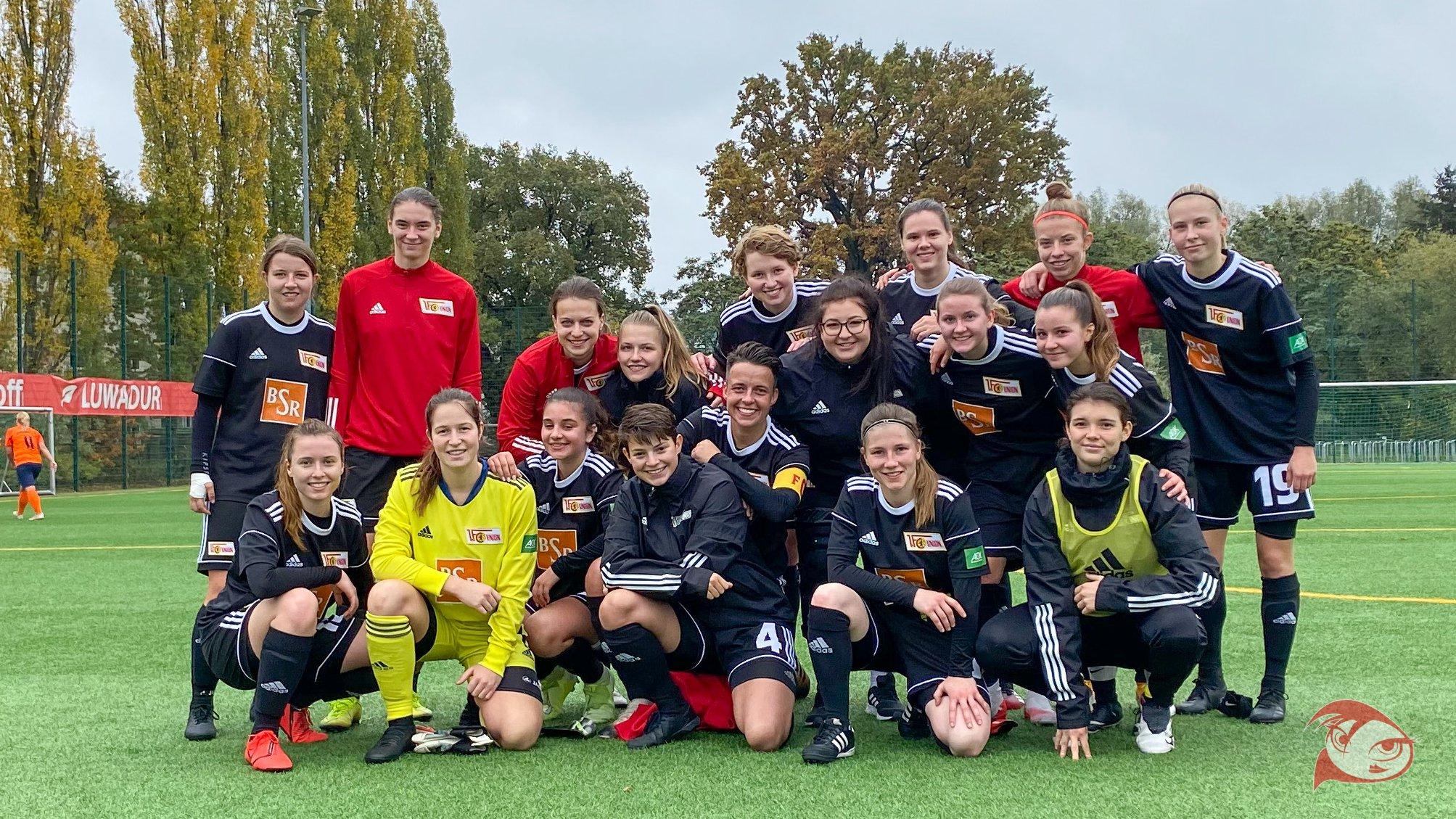 Das zweite Frauen-Team des 1. FC Union Berlin, Foto: 1. FC Unin Berlin Frauen und Mädchen