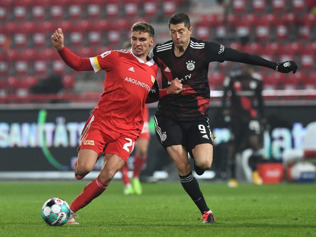 Union Bayern Prömel Lewandowski
