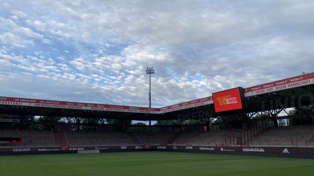Zu den Tests gegen Prag und Dresden dürfen 2000 Zuschauer ins Stadion an der Alten Försterei, Foto: Sebastian Fiebrig