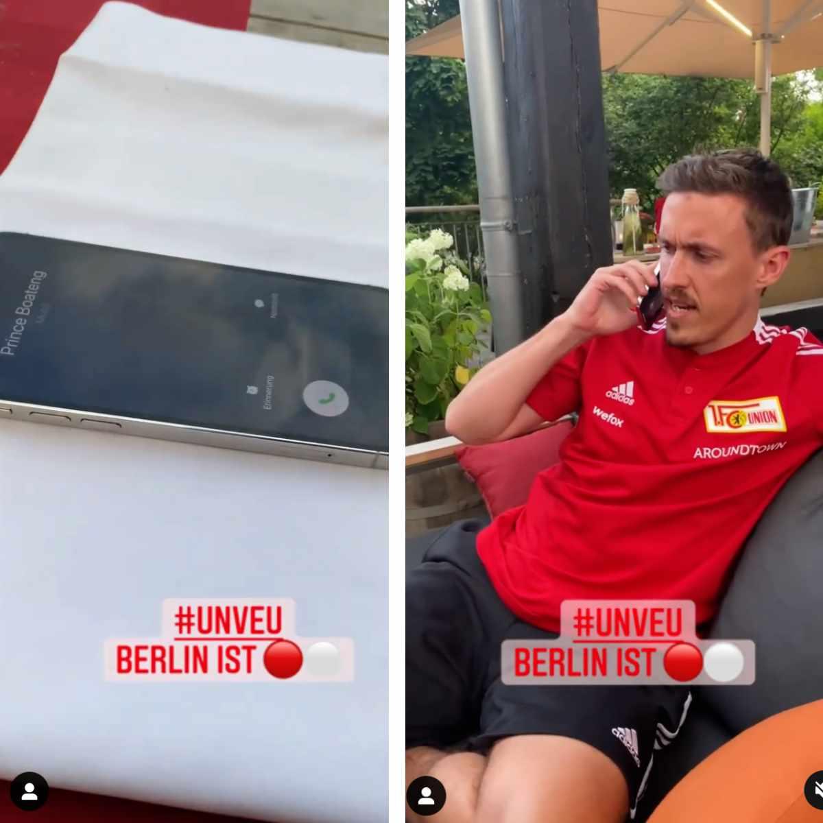 Max Kruses Telefon-Aktion im Trainingslager