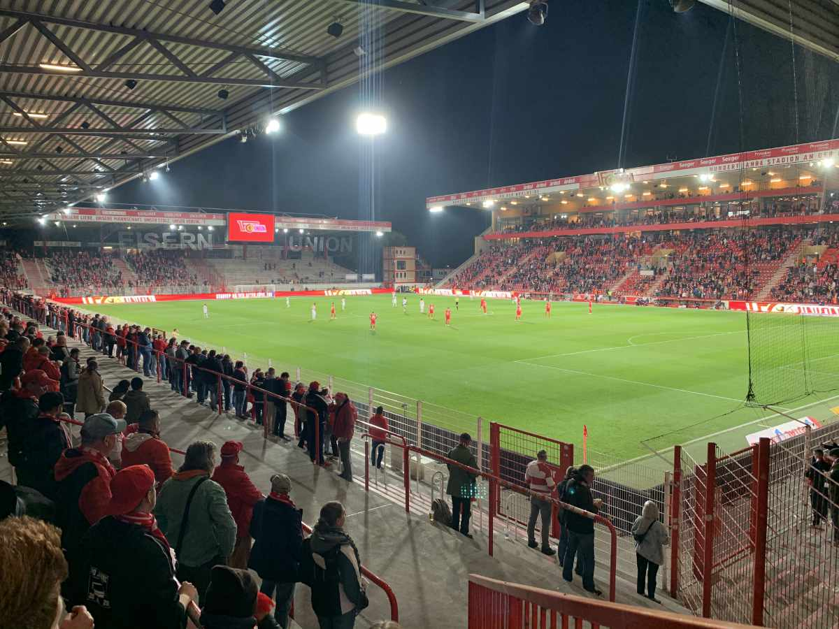 Zu Beginn der vergangenen Saison durften 5000 Unionfans zu Heimspielen in der Bundesliga gehen. Foto: Sebastian Fiebrig