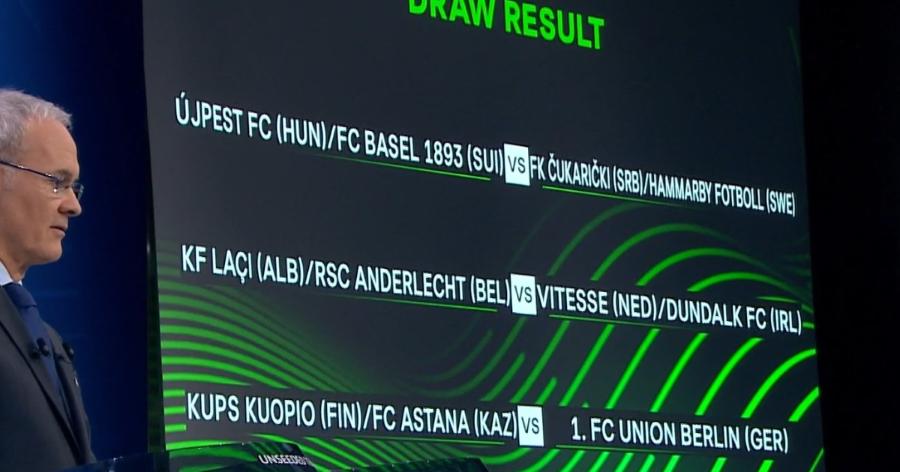 Auslosung UEFA Union Berlin Kuopio Astana
