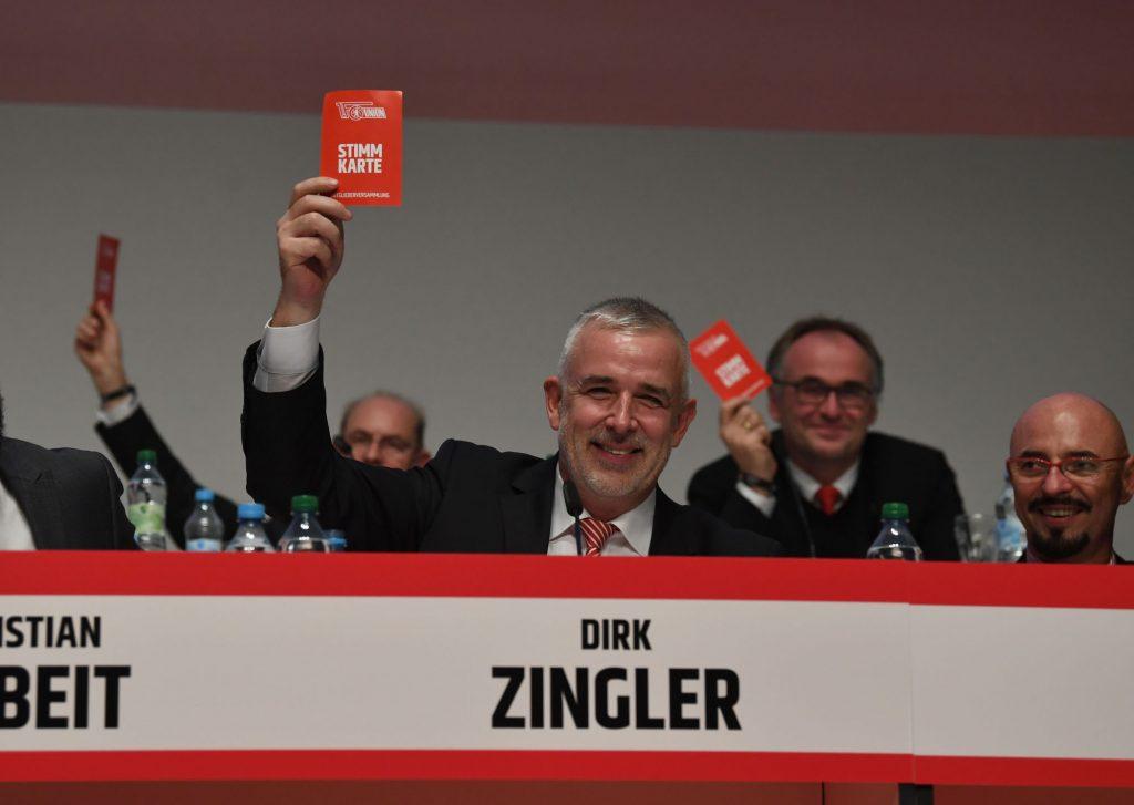 Union Präsident Dirk Zingler